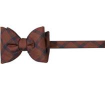 Krawatte Schleife, Seide, cognac