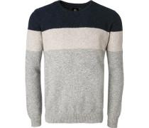 Pullover, Wolle, gestreift