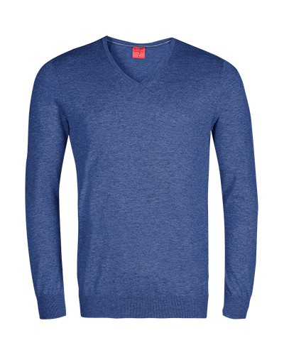 Pullover, Casual Body Fit, Schurwolle-Seide