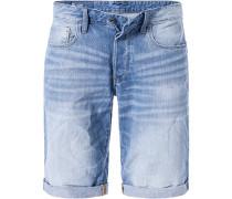 Jeansshorts Herren, Baumwolle