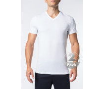 T-Shirts, Baumwoll-Stretch