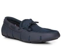 Schuhe Loafer, Kautschuk, navy