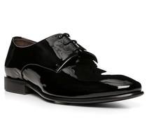 Schuhe Derby, Kalbleder Lack