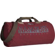 Tasche Handgepäck, Baumwolle, weinrot