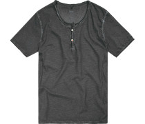 T-Shirt, Baumwolle, dunkelgrau