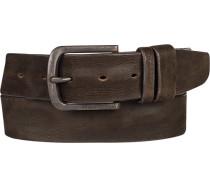 Gürtel schokobraun, Breite ca. 3,5 cm