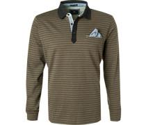 Polo-Shirt Polo, Baumwolle, gestreift