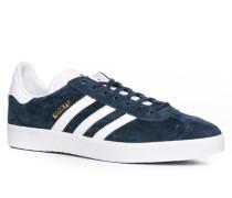 Schuhe Sneaker, Veloursleder, dunkelblau