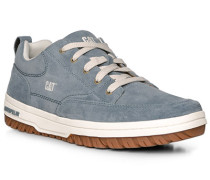 Schuhe Sneaker, Verloursleder, rauchblau