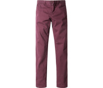 Hose Chino, Shaped Fit, Baumwolle