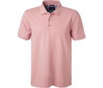 Polo-Shirt Polo, Baumwoll-Piqué, altrosa