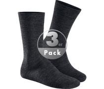 Socken Socken, Schurwolle, meliert