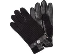Handschuhe Handshcuhe, Leder-Wolle