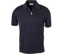Polo-Shirt Polo, Baumwolle, navy