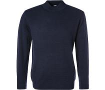 Pullover, Wolle, nachtblau