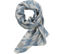 Schal, Baumwolle-Leinen
