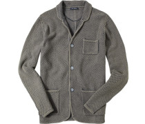 Cardigan, Slim Fit, Baumwolle