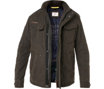 Fieldjacket, Mikrofaser