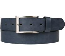 Gürtel marineblau, Breite ca. 3 cm