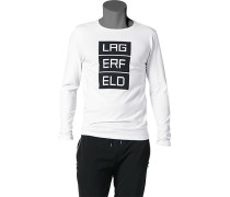 T-Shirt Langarmhirt, Baumwolle