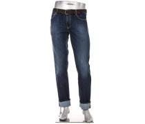 Jeans Bike, Regular Slim Fit, Baumwoll-Stretch T400