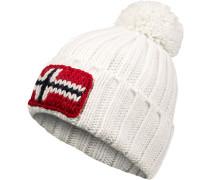 Mütze, Wolle, ecru