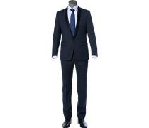 Anzug Smoking, Woll-Stretch, nachtblau