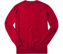 Pullover, Wolle, kirschrot