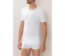T-Shirt, Baumwoll-Stretch,