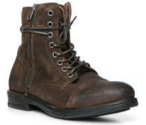 Schuhe Schnürstiefeletten, Nubkuleder