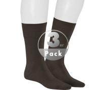 Socken Socken, Schurwolle, dunkelbraun