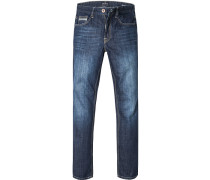 Blue-Jeans, Regular Comfort Fit, Baumwolle