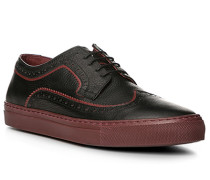 Schuhe Sneaker, Kalbleder, bordeaux