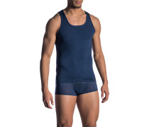 Unterwäsche Tanktop, Baumwolle, nachtblau