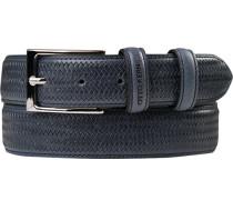 Gürtel dunkelblau, Breite ca. 3,5 cm