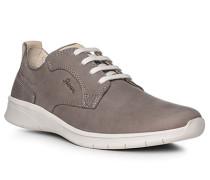 Schuhe Sneaker, Kalbnubukleder