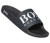 Schuhe Sandalen, Gummi, navy