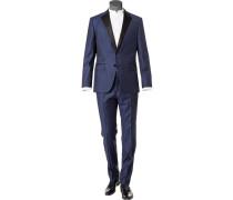 Anzug Smoking, Slim Fit, Schurwolle-Seide