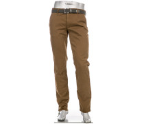Hose Chino Lou, Regular Slim Fit, Baumwolle T400
