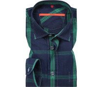 Oberhemd, Classic Fit, Baumwolle