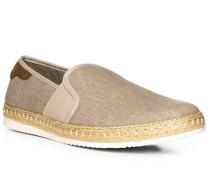 Schuhe Espadrilles, Canvas-Leder RESPIRA®