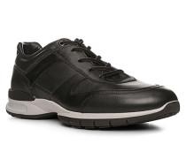 Schuhe Sneaker Aston, Kalbleder