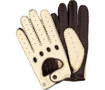 Autofahrer-Handschuhe Herren, Leder