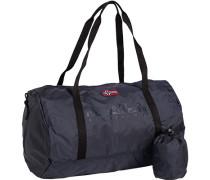 Tasche Sport-Tasche, Microfaser, marineblau