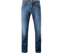 Jeans, Sraight Fit, Baumwoll-Stretch