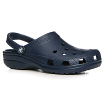 Schuhe Pantoletten, Gummi, navy
