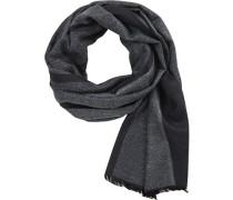 Schal, Viskose, -schwarz gestreift