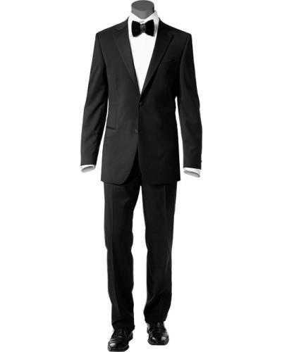 Anzug Smoking, Schurwolle