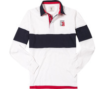 Rugby-Shirt, Baumwoll-Jersey