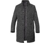 Mantel, Woll-Mix, meliert